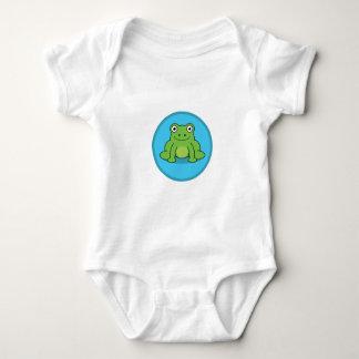 Body Bébé de chemise de grenouille