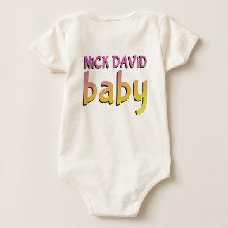 Body Bébé de Nick David - organique, pièce en t