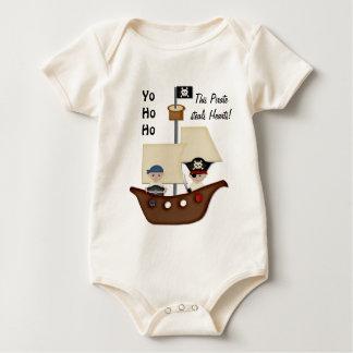 Body Bébé de trésor de bateau de pirate