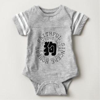 Body Bébé de zodiaque de chien de personnalité né en