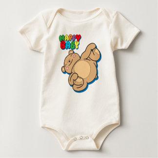 Body Bébé heureux par l'ours de nounours de yoga