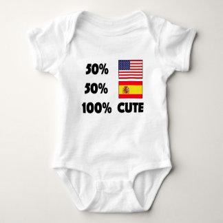 Body Bébé mignon Etats-Unis Espagne de l'Espagnol 100%