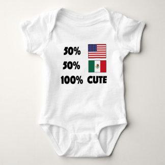 Body Bébé mignon Etats-Unis Mexique du Mexicain 100% de