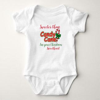 Body Bébé plus doux que l'amoureux de Noël de sucre de