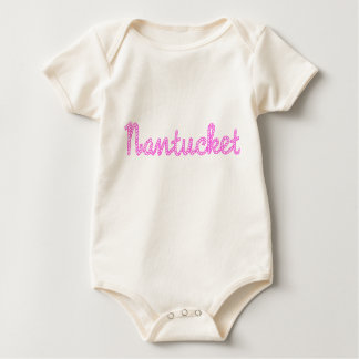 Body Bébé rose de Nantucket