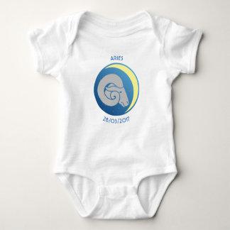 Body Bélier de gilet de bébé de signe d'étoile
