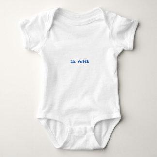 Body BLEU de combinaison de bébé de Lil Yooper Michigan