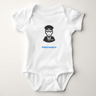 Body Blouse de Bébé - Futur Pilote