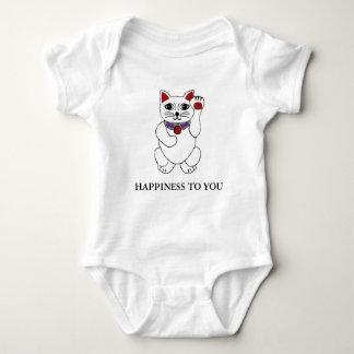 Body Bonheur chanceux de chat de Neko à vous chemise