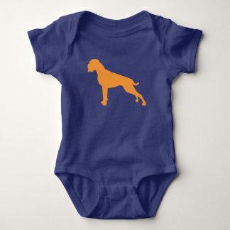 Body Boxeur chien orange