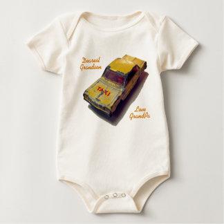 Body Cabine vintage de jaune de boîte d'allumettes