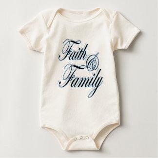Body Cadeau chrétien mignon de baby shower de foi et de