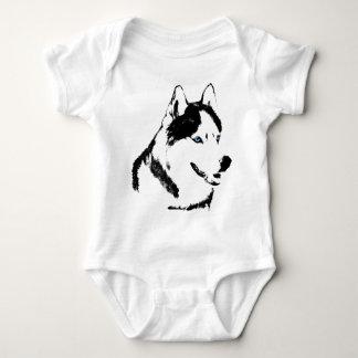 Body Cadeau enroué de chien de traîneau de bébé de