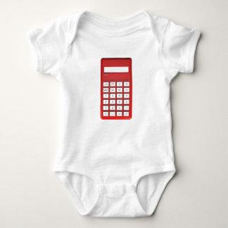 Body Calculatrice rouge de calculatrice