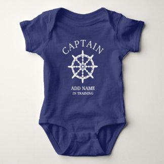 Body Capitaine In Training de bateau (personnalisez le