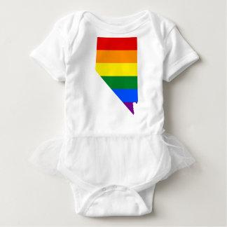 Body Carte de drapeau du Nevada LGBT