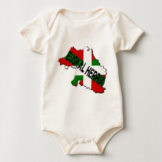 Body Carte pays basque plus drapeau euskal herria