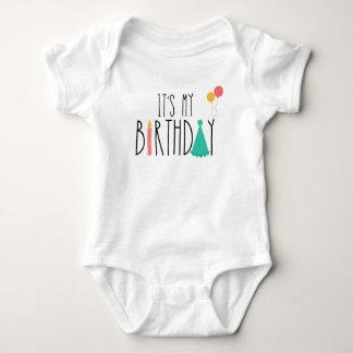 Body C'est ma combinaison de bébé d'anniversaire