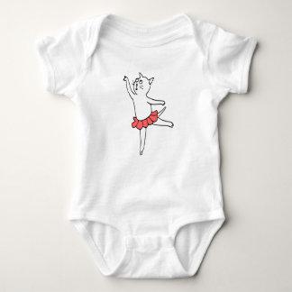 Body Chat de ballet/tutu rouge