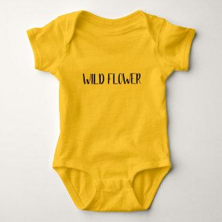 """Body Chemise de bébé """"de fleur sauvage"""""""