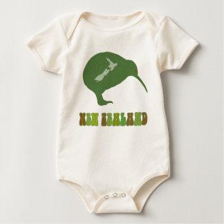 Body Chemise de bébé de la Nouvelle Zélande de kiwi