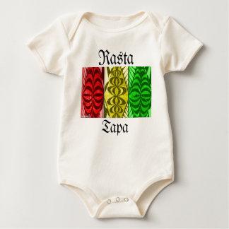 Body Chemise de bébé de Tapa de Rasta