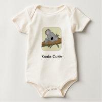 Chemise de koala pour des bébés