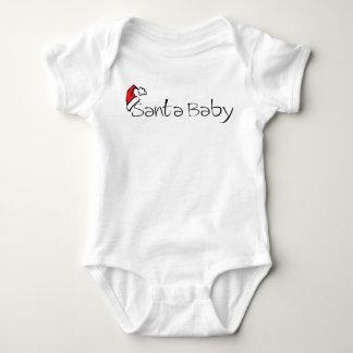 Body chemise de nourrisson de bébé de père Noël