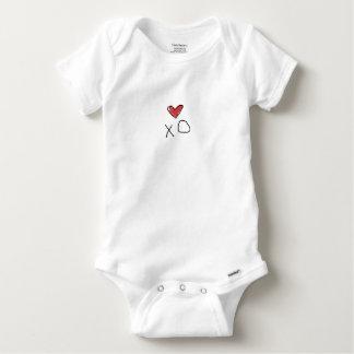 Body Chemise du coeur des enfants de combinaison
