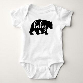 Body Chemise d'une seule pièce d'ours de bébé