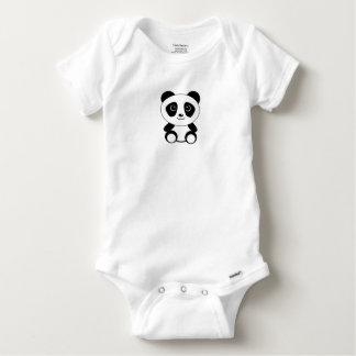 Body Chemise mignonne de bébé de petit panda