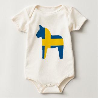 Body Cheval de Dala de drapeau de la Suède