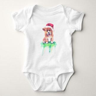 Body Chiot de corgi de vacances - combinaison de bébé