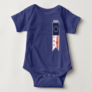Body CKDF peu de salopette de bébé de Fechter