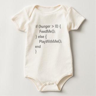 Body Code de bébé - affamé et jeu