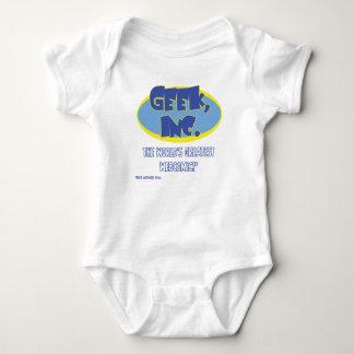 Body Combinaison comique de bébé de Geek, Inc.