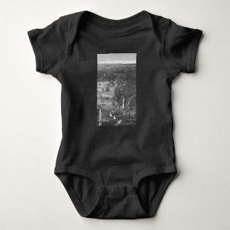 Body Combinaison de bébé de carte de Brooklyn dans noir