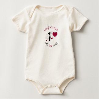 Body combinaison de bébé de kittyinNY