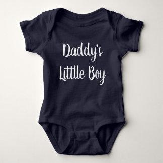 Body Combinaison de bébé de lettrage de main du petit