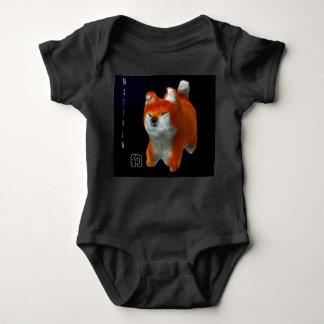 Body Combinaison de bébé de nom d'année de chien d'art
