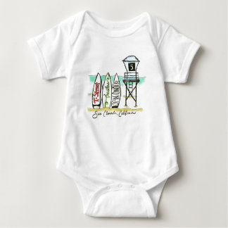 Body Combinaison de bébé de San Clemente de surf