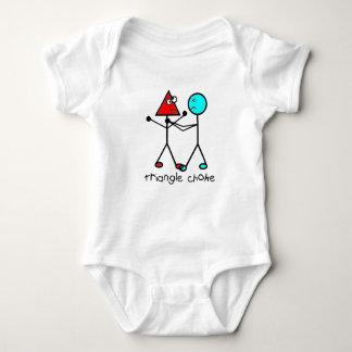 Body combinaison de bébé d'obstruction de triangle de