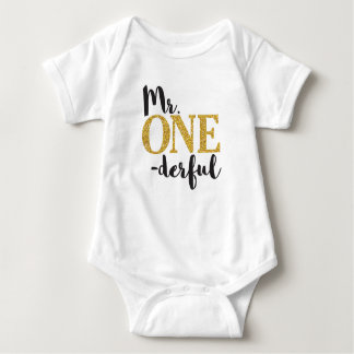 Body Combinaison de M. ONEderful Baby Jersey