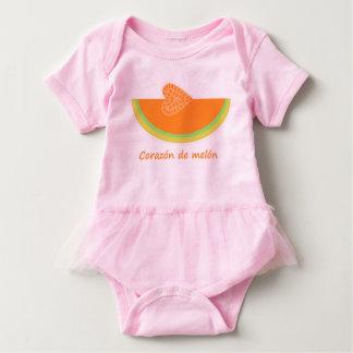 Body Combinaison de tutu de bébé de Corazón de melón