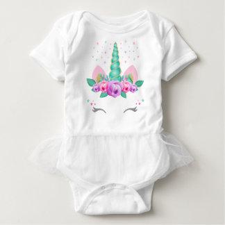 Body Combinaison de tutu de bébé de licorne