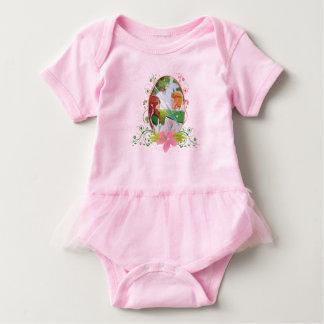 Body Combinaison de tutu de bébé de roi et de Reine
