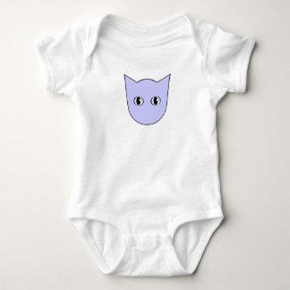 Body Combinaison de visage de chat bleu