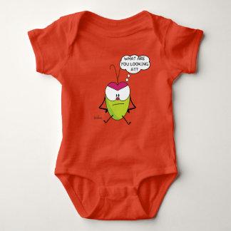 Body Combinaison drôle de jersey de bébé de Pulga de