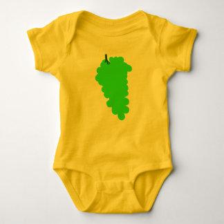 Body Combinaison du Jersey de bébé avec des raisins