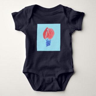 Body Combinaison du Jersey de bébé de ballon à air